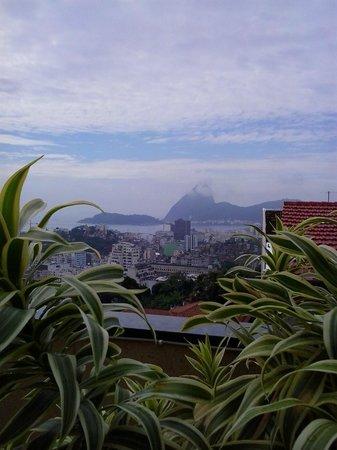 Santo Mirante Hostel: Vista maravillosa desde la terraza del Hostal