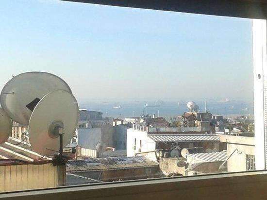 Oran Hotel: Panorama dal ristorante