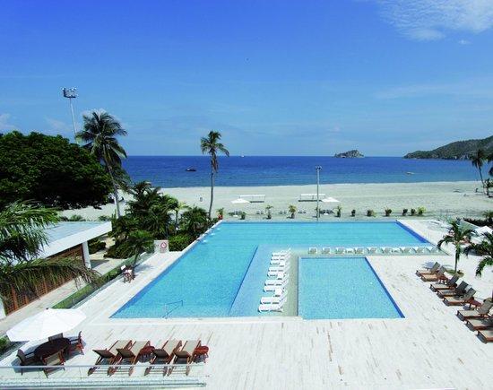 Hotel Tamaca Beach Resort Vista Desde Las Habitaciones