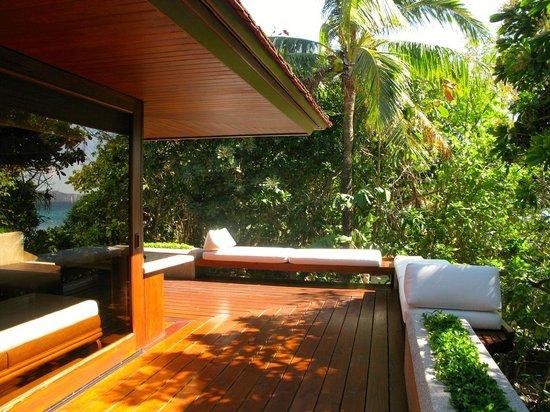 Amanpulo: Beach Villa_terrace