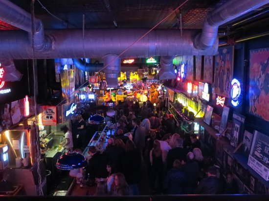 Robert's Western World: View from the Balcony