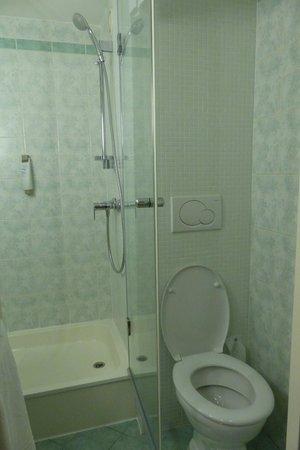 Ibis Budapest Centrum: Bathroom at Ibis