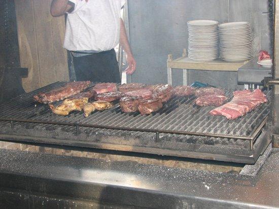 Jocko's Steak House: BBQ Pit