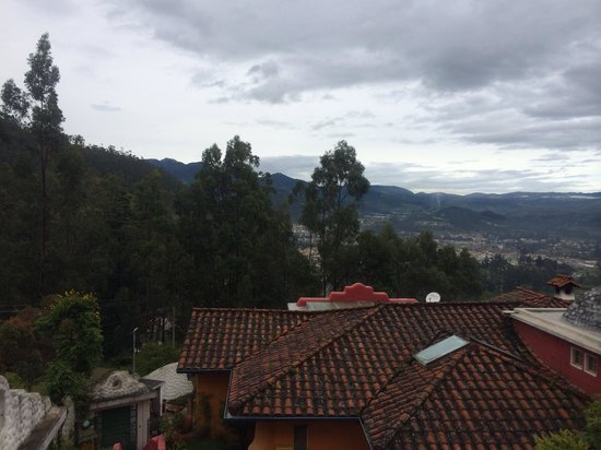 La Casa Sol Otavalo: View from our room