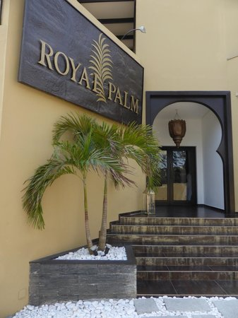 Royal Palm : Entrée Hôtel