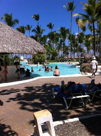 Bavaro Beach: swimup pool bar