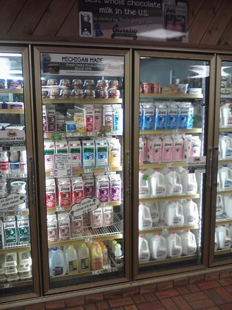 Guernsey Farms Dairy : Milk Cooler