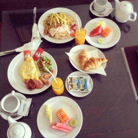 The Wangsa Private Estate: завтрак в номер