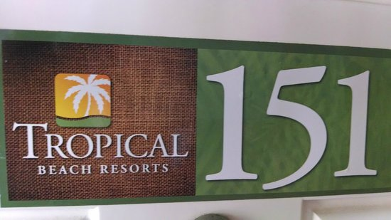 Tropical Beach Resorts: Our room