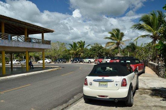 Blue Travel Partner Services: Parked in Boca de Yuma