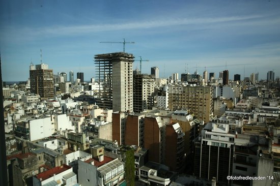 Alvear Art Hotel: uitzicht van mijn kamer 29 etage