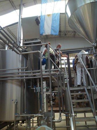 Cervecería Antares: Visita a la fábrica