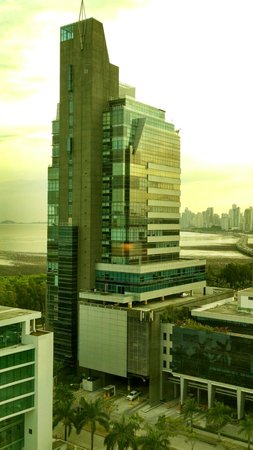 The Westin Panama: Left side view from the room on the 14th floor