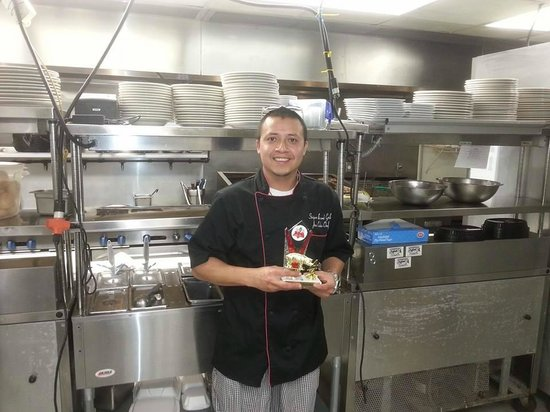 Stripers Bar and Grille: Jose Calvio - Chet ats Stripers (1st place Best Pork BBQ)