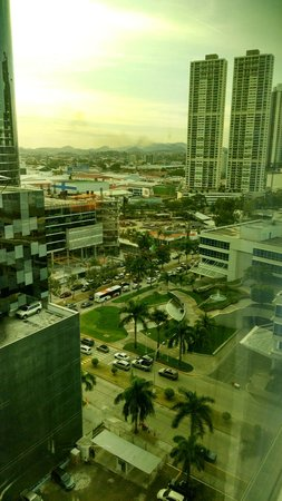 The Westin Panama: Right side view from the room on the 14th floor