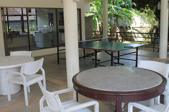 "Eco Resort Chiang Mai: Ping Pong - just a ""little"" warped, but fun anyways."