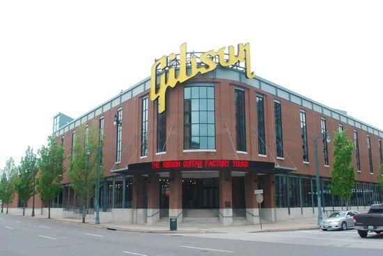 Gibson Factory: entrata principale