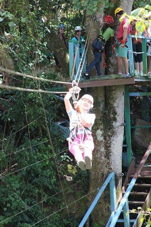 Antigua Rainforest Canopy Tour: Great fun.