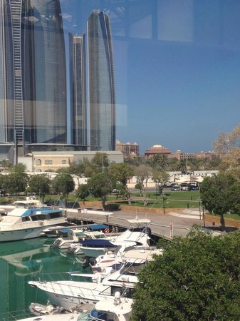 InterContinental Abu Dhabi: View from the gym