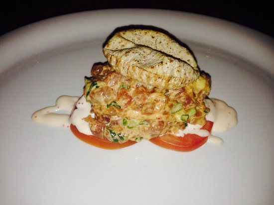 Sel Gras Restaurant: That was the Red tuna tartare!!! Just delicious ��