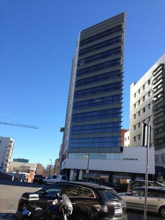 Residencia Melon District Marina: hotel da fuori