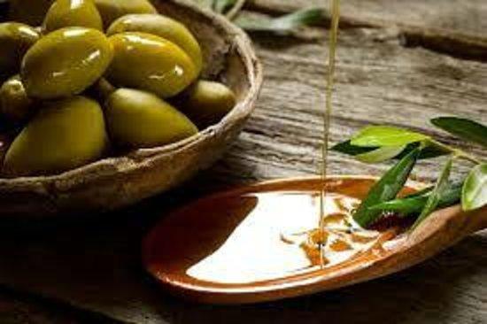 Trattoria y Pizzeria Ciao Italia: Utilizamos aceite de oliva italiano extra virgen