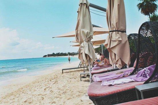 Paradisus Playa del Carmen La Perla: Royal Service Beach Area