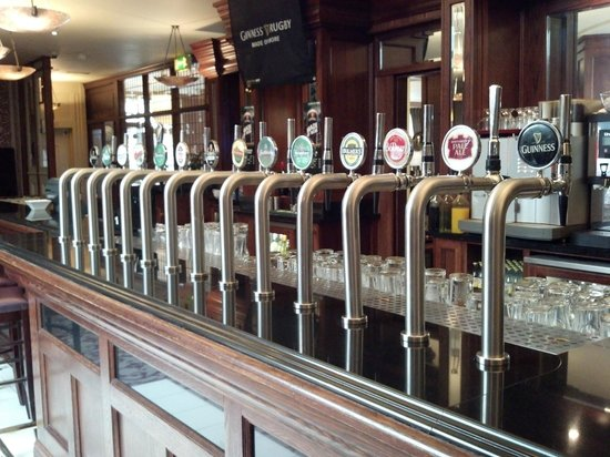 Clayton Hotel Ballsbridge: On Tap