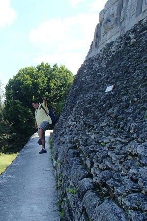 Belize Nature Travel: David at Xunantanich