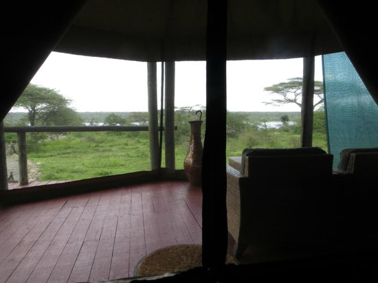 Masek Tented Camp : view from tent