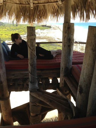 Villa Santa Cruz: Crow's nest in the Palapa