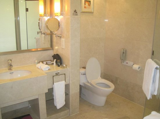 Huafang Jinling International Hotel Zhangjiagang : Bathroom
