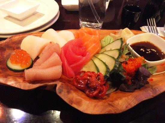 Ohana Sushi & Asian Cuisine : sashimi