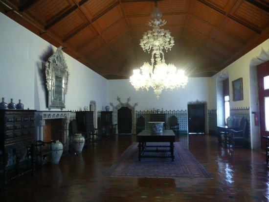 Palacio Nacional de Sintra: El salón más sobrio pero elegante