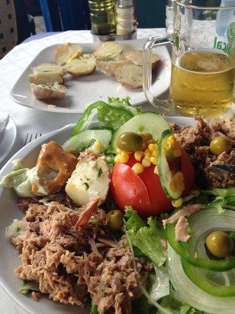 La Gran Paella Valenciana: Delicious Tuna Salad with Canarian Potatoes