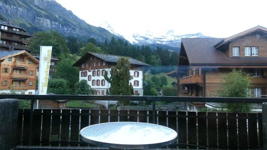 Hotel Edelweiss: View from our Room
