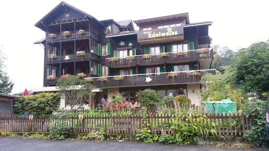 Hotel Edelweiss: Front of Hotel