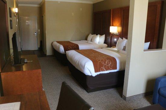 Comfort Suites: Two Queen bed room suites