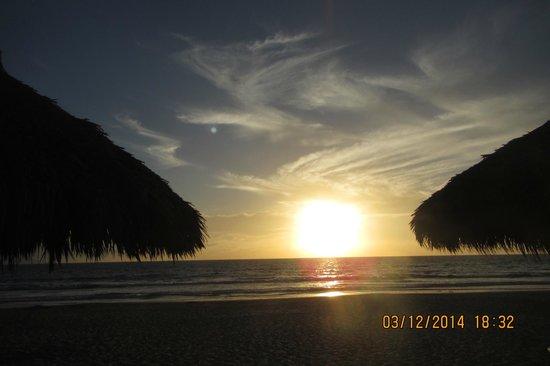 Occidental Nuevo Vallarta: The beautiful sunset I took one evening