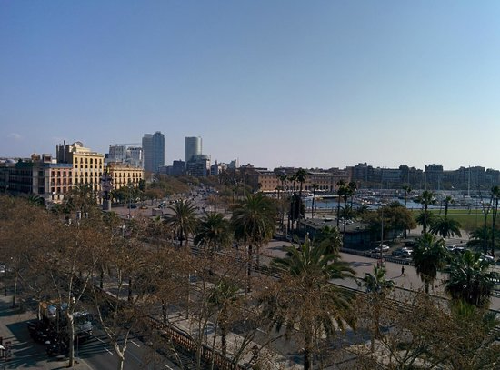 Hotel Duquesa de Cardona : View from the room