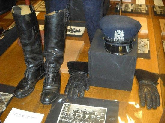 New York City Police Museum: divise d'epoca