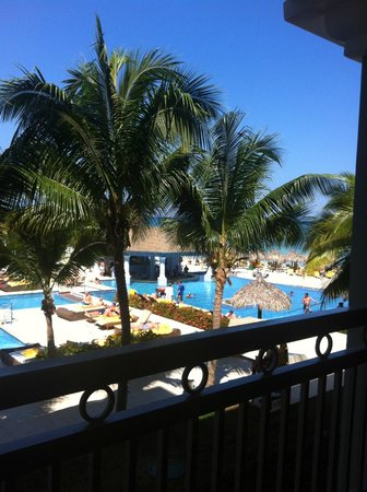 Iberostar Grand Hotel Rose Hall: la vue de notre balcon