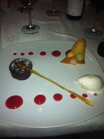 Iberostar Grand Hotel Rose Hall: un mi-cuit au chocolat quel delice