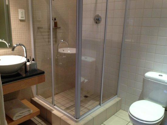 Hippo Boutique Hotel: baño