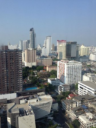 Mercure Bangkok Siam: Lovely view from 24th floor room