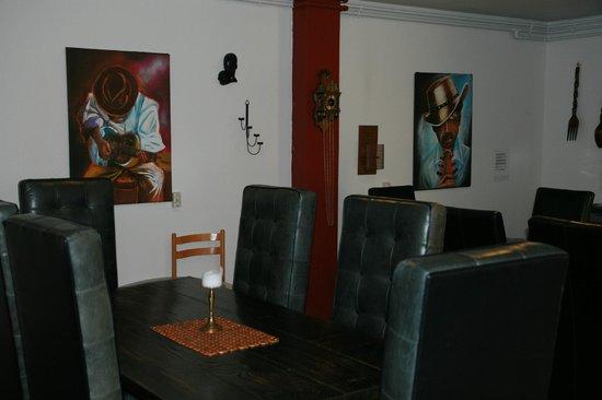 Selfoss Apartments : guests kitchen