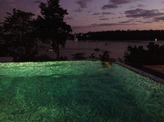 Hotel Bocas del Mar: infinity-pool