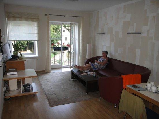 Barbacan Apartments: Отель Barbacan Palace  Вильнюс