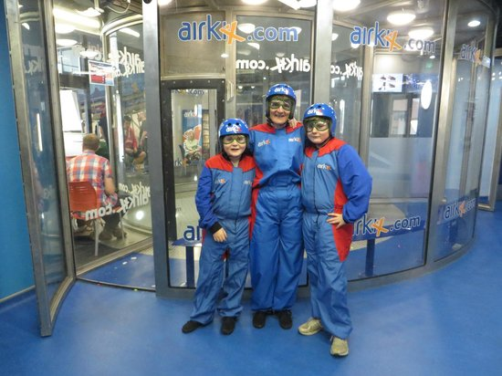 Airkix Indoor Skydiving Basingstoke: Getting ready to 'fly'