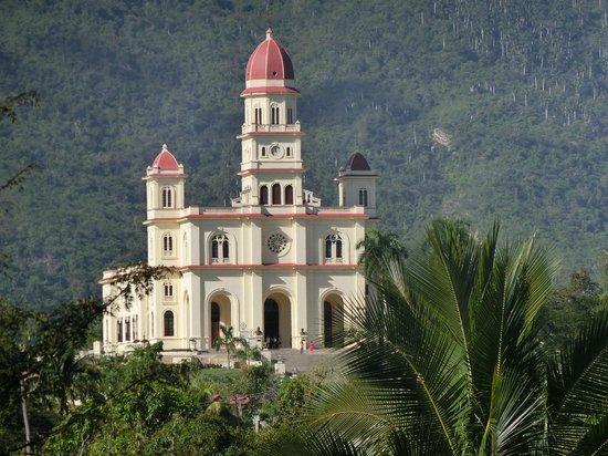 El Cobre Basilica: basilique el Cobre
